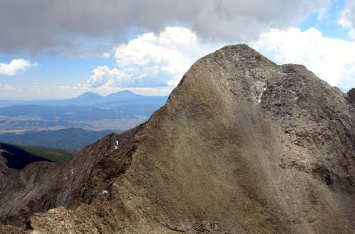 Blanca Peak, West Face