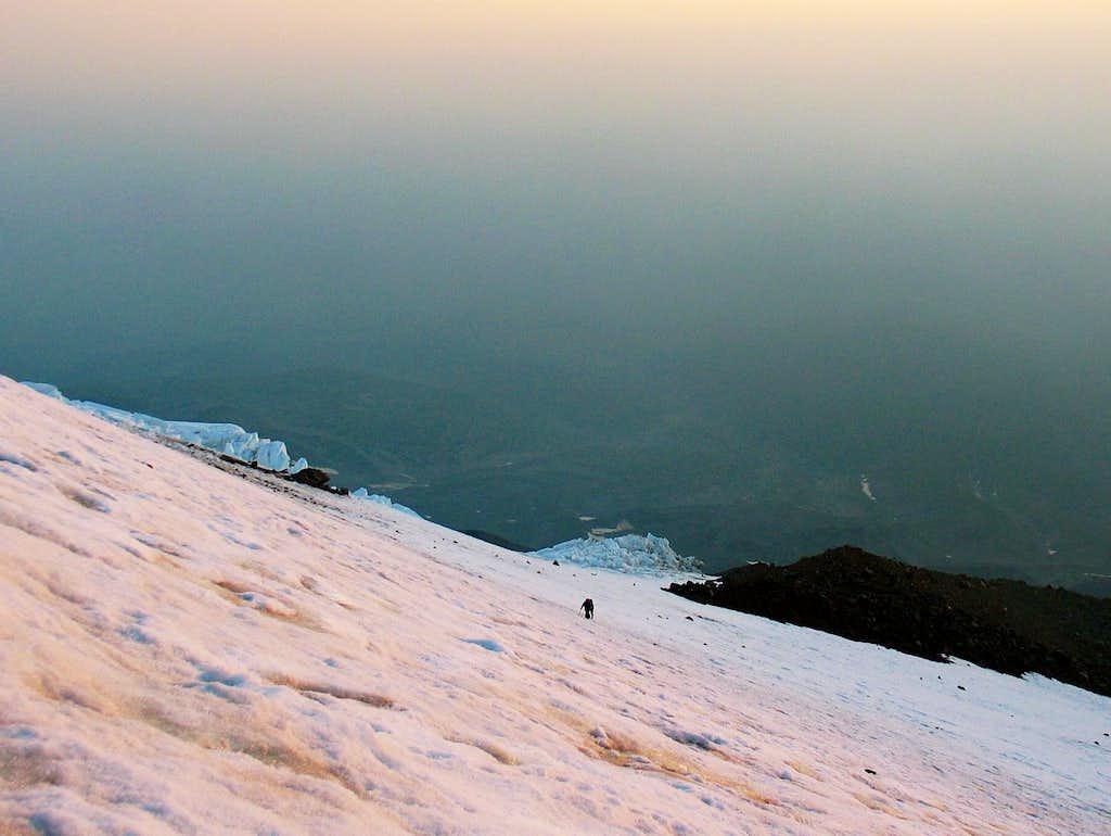 Wintum Snowfield/ Mt Shasta