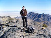 Kadee on top of Graham Peak