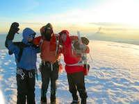 Chimborazo Summit (6310 m., 20700 ft.)