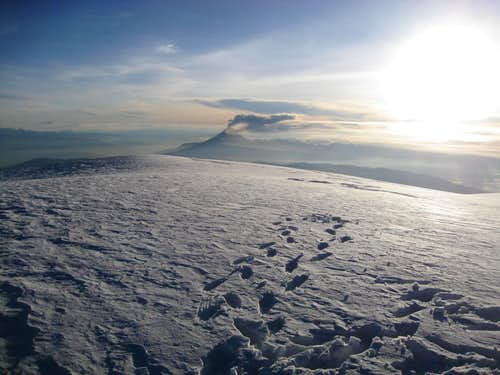 Chimborazo Summit View