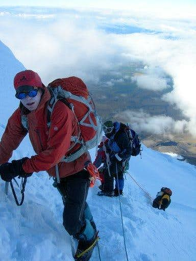 The crux of Cotopaxi