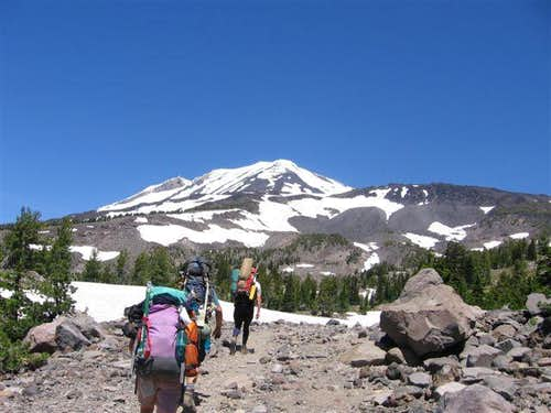 Mt Adams/South Spur