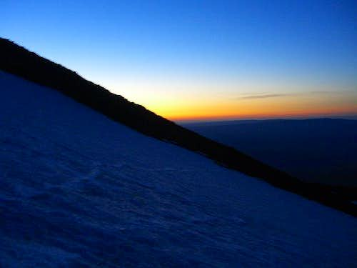 Sunrise/Mt Adams/South Spur Route