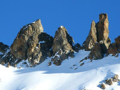 Ascent to Bächenstock 3011m