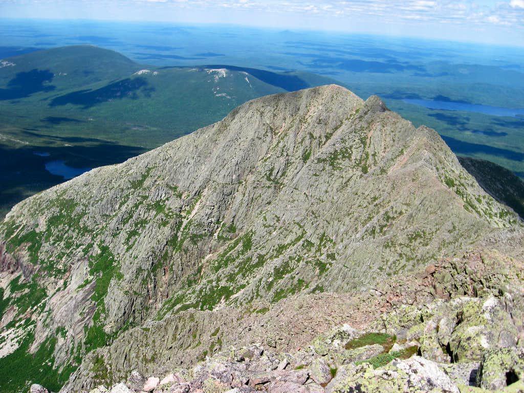 Pamola Peak and the Knife Edge