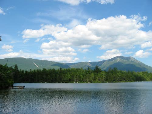 Katahdin from Daicey Pond