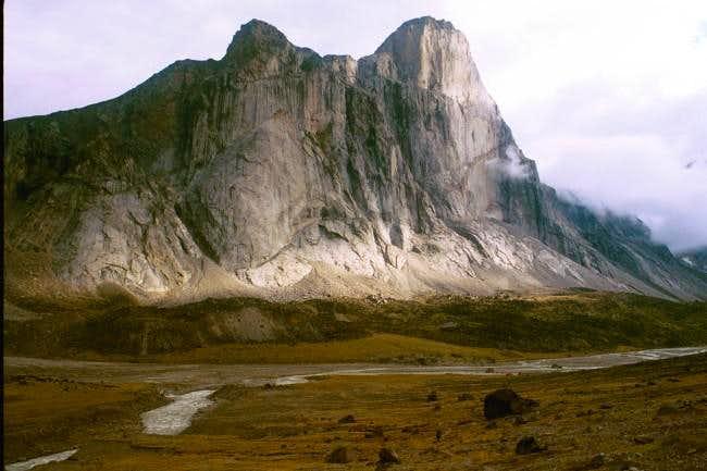 Mt. Thor in its entirety....