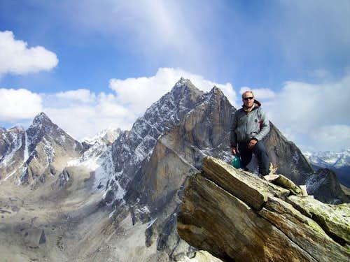on summit Toro POeak