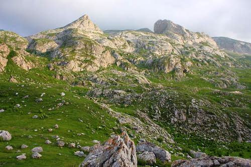 Karstic formations of Korab