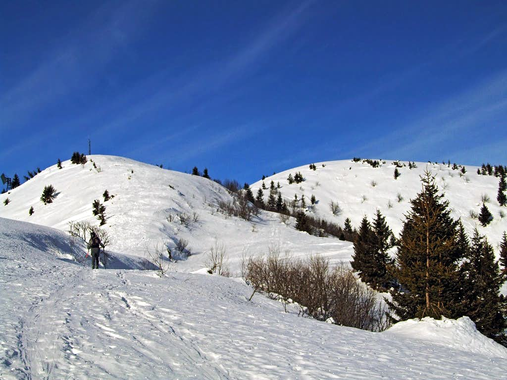 Towards Monte Dimon from the SE