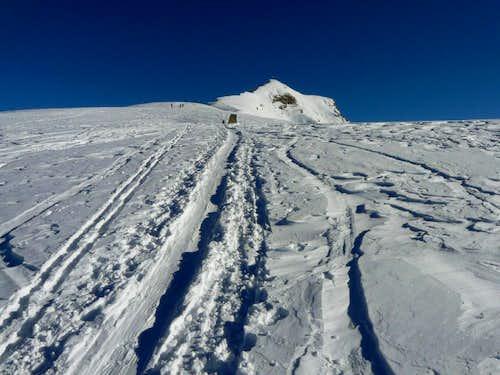 West ridge of Monte Zerbion