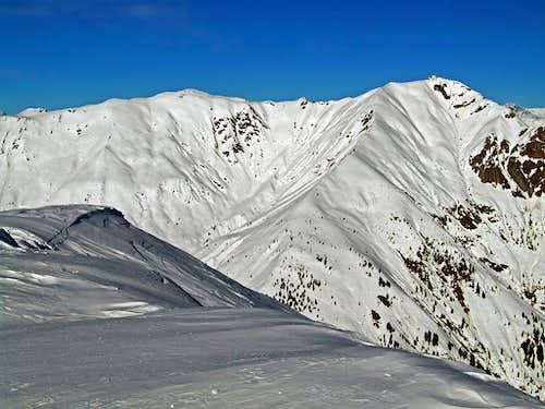 Cuestalta / Hoher Trieb from Monte Dimon