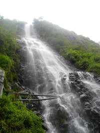 Waterfall in Banos