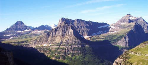 Logan Pass from Gould