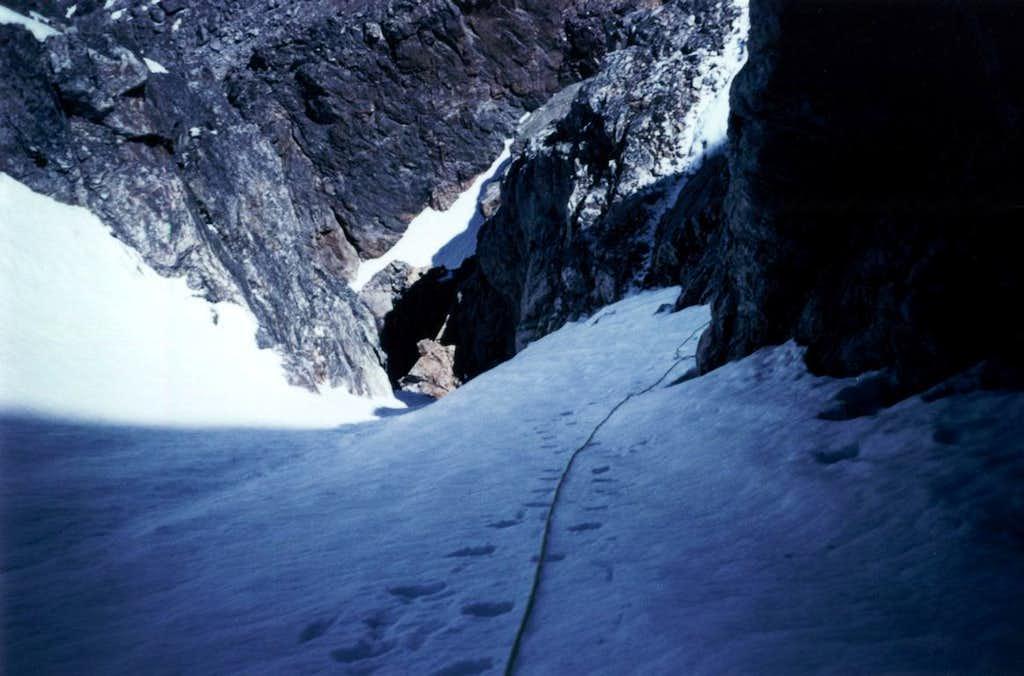 NW Couloir Middle Teton