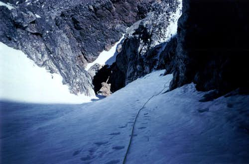 NW Couloir Middle Teton