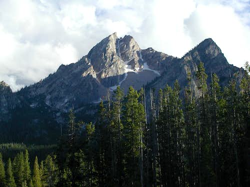 McGown Peak from Stanley lake