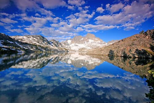 Garnet Lake Clouds