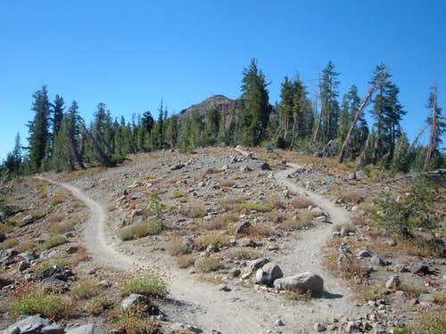 Hole in the Ground Trail to Andesite Peak