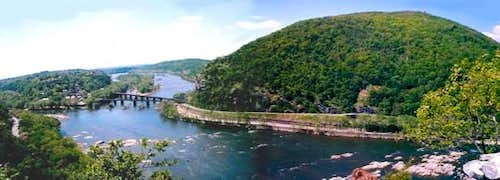 Panorama of Harpers Ferry,...