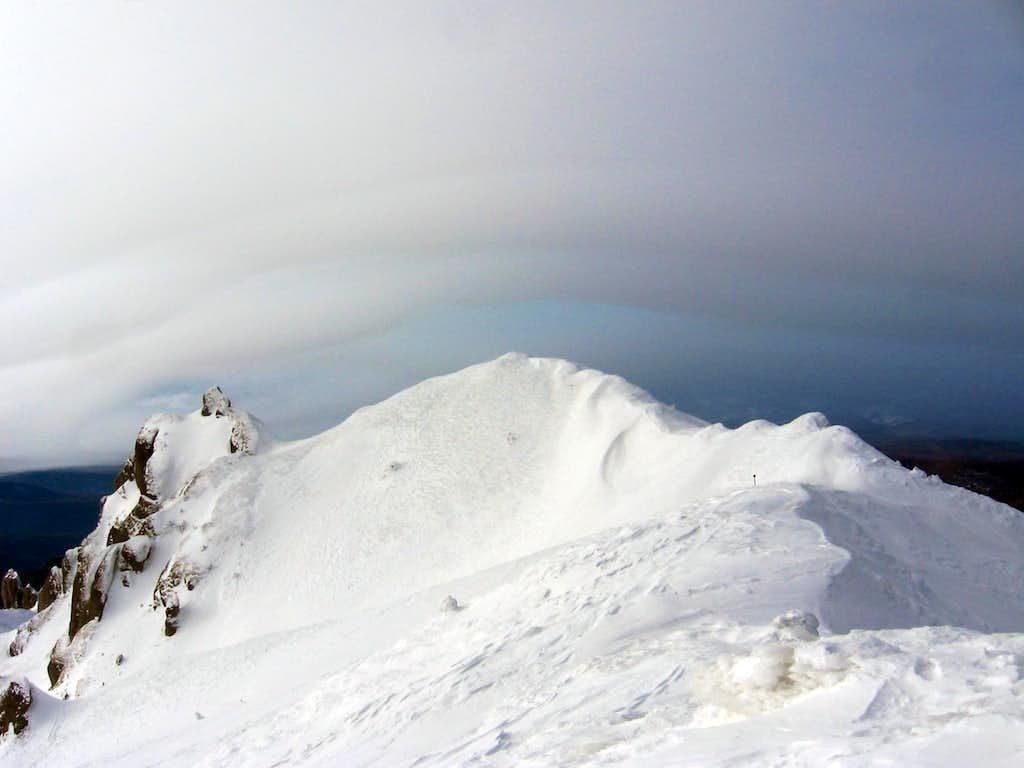 Ciucaş- To the ridge  Bratocea