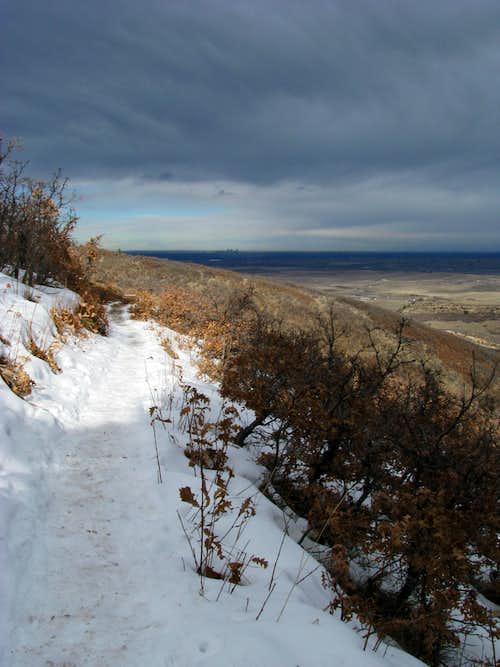 Trail to Carpenter Peak