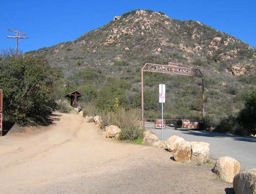 Entrance to Daley Ranch