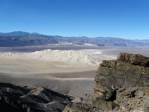 Dunes from peak 6450
