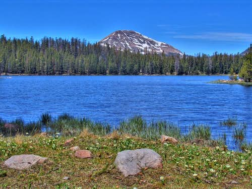 From Lilly Lake