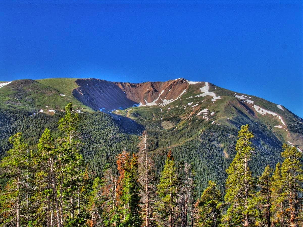Engelmann Peak and  Robeson Peak