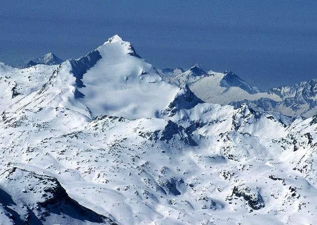 the impressive northern slope...