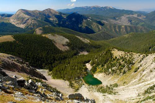 Pecos, view from Truchas Peak