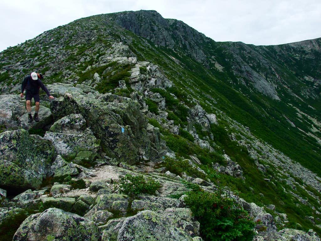 Descending Hamlin Ridge