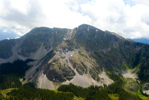Middle and Medio Truchas Peaks