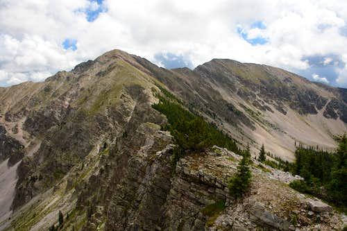 North Truchas Peak and UN 12,900