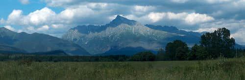 Kriváň, Slovakia's most emblematic mountain