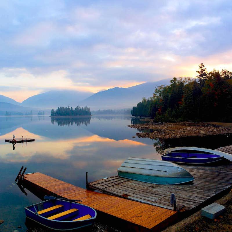 Elk Lake Adirondacks Sunrise Elk Lake