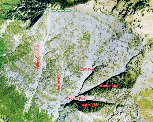 Cascade's Southern Couloirs