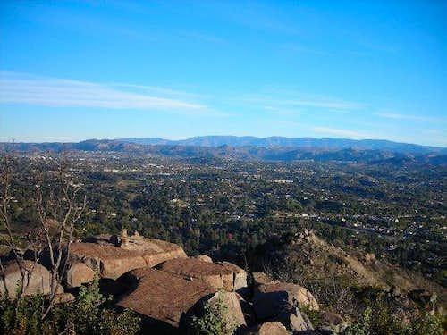 View North - Bernardo Mountain