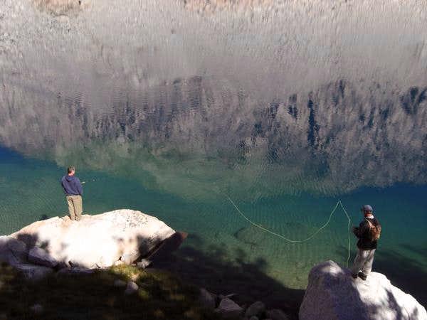 Fishing Upper Lamarck Lake
