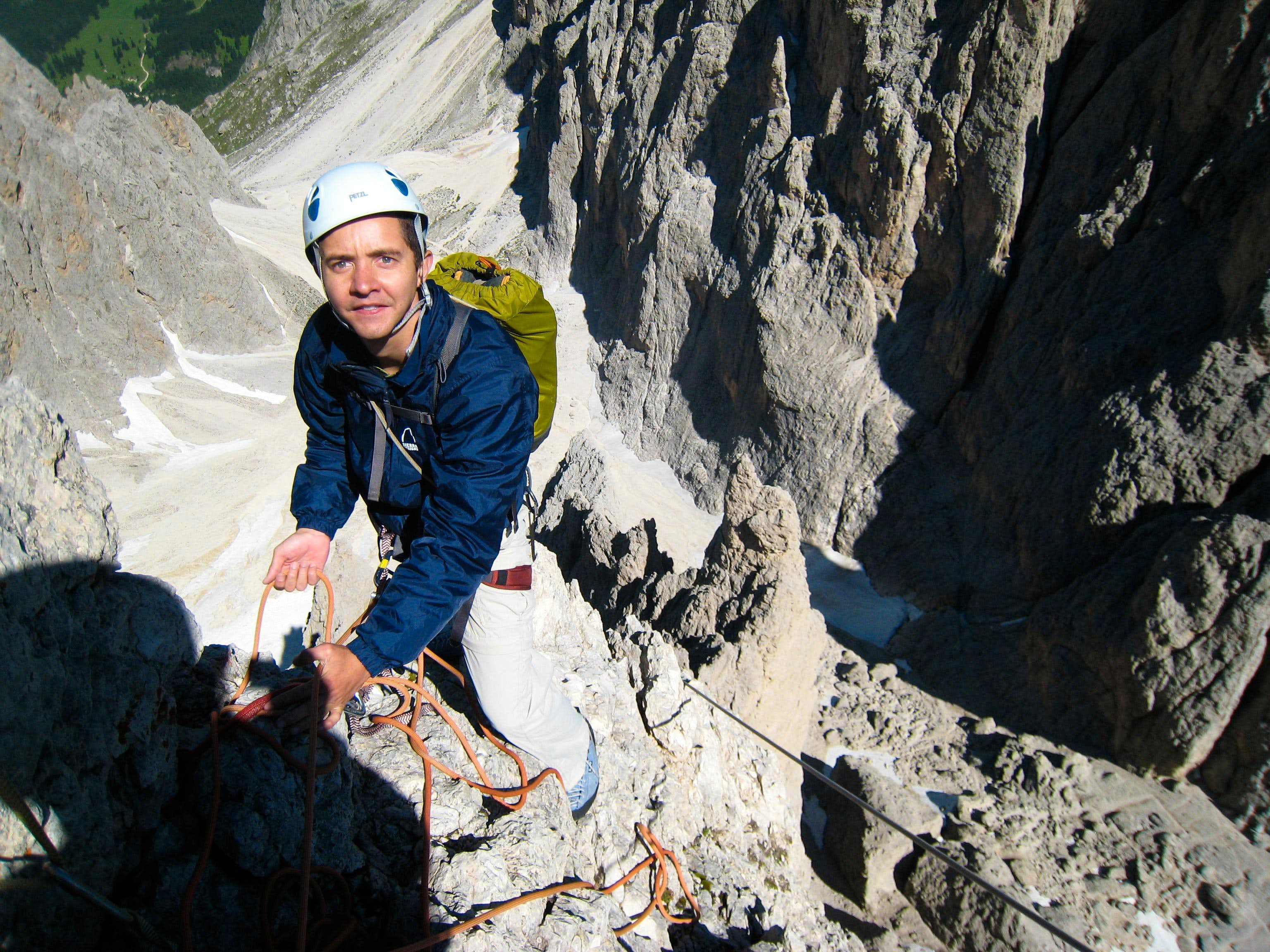 Traverse of the Fünffingerspitze