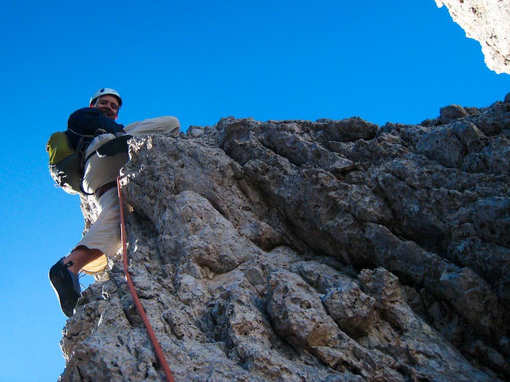 Carlos on the ridge