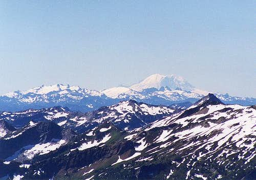 Mt. Rainier from the NNE...