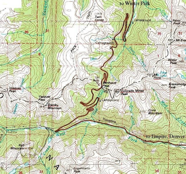 Topo map of the somewhat...