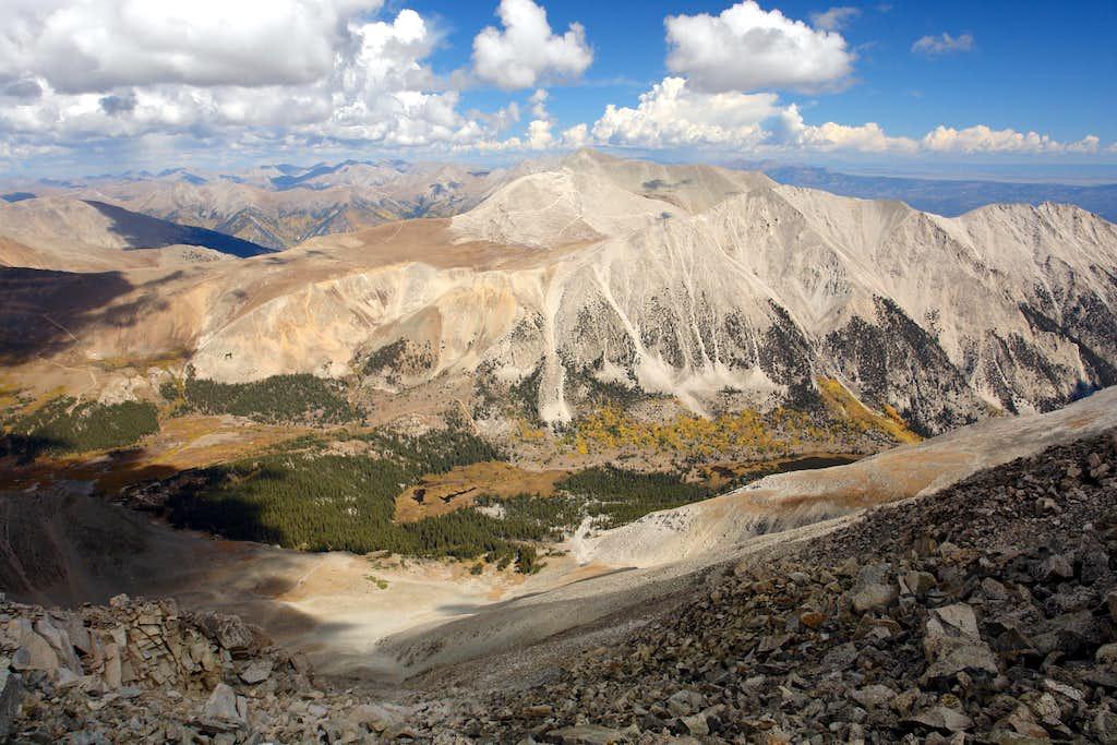 Mount Antero and Mount White