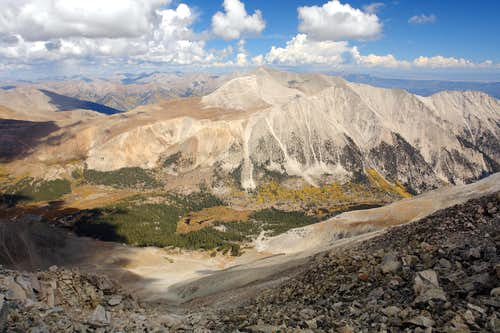 Mount Antero and Mount White