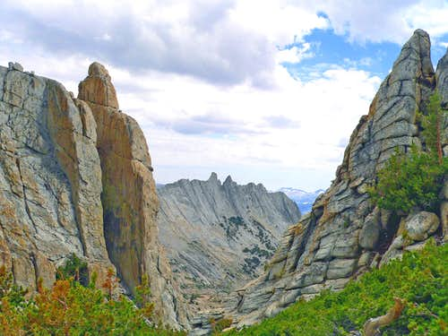 Matthes Crest from Echo Peaks