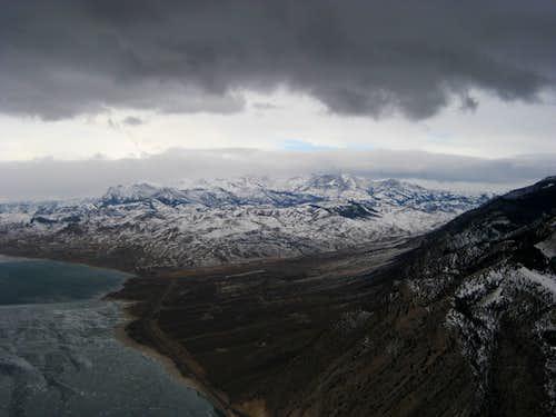 Cedar Mountain summit view northwest