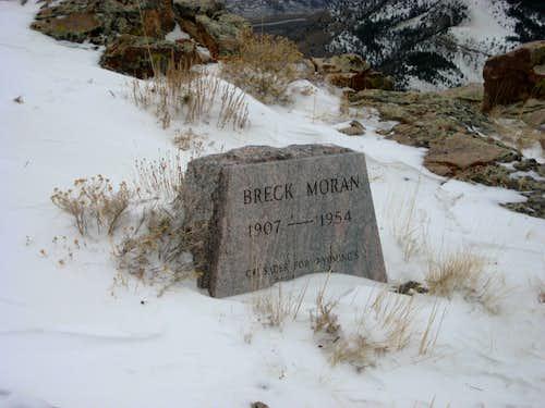 Breck Moran headstone